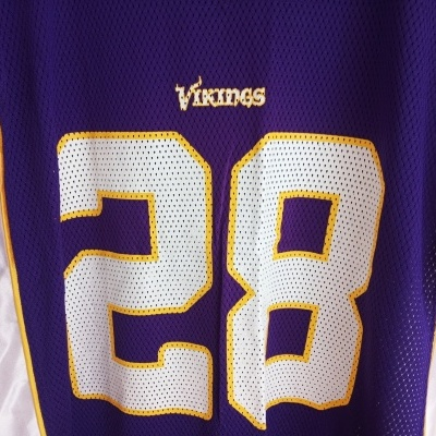 "Minnesota Vikings NFL Jersey #28 Peterson (M) ""Very Good"""