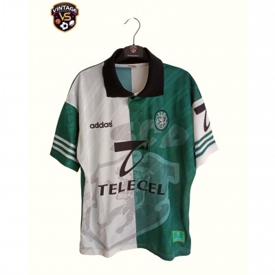 "Sporting CP Third Shirt 1996-1997 (S) ""Very Good"""