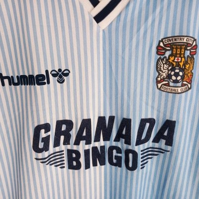 """Coventry City FC Home Shirt 1987-1989 (XL) """"Average"""""""