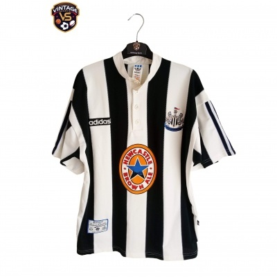 "Newcastle United Home Shirt 1995-1997 (M) ""Very Good"""