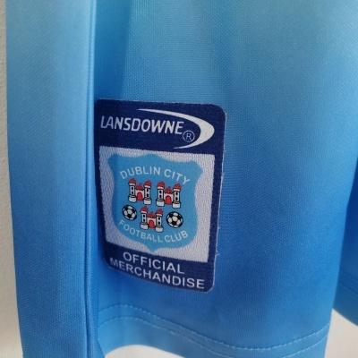 "Dublin City FC Home Shirt 2002-2003 (L) ""Very Good"""