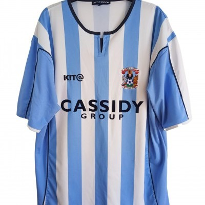 """Coventry City FC Home Shirt 2005-2006 (L) """"Good"""""""