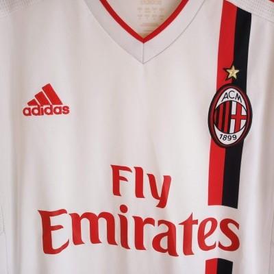 """AC Milan Away Shirt 2011-2012 (S) """"Very Good"""""""