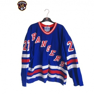 "New York Rangers Ice Hockey Player Jersey #27 Kovalev (50) ""Very Good"""