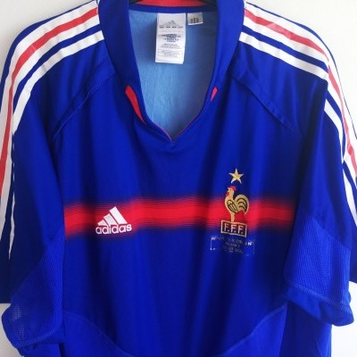 "France Home Shirt vs Ireland 2005 (XL) ""Good"""