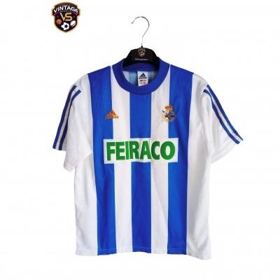 """Deportivo La Coruna Coruña Home Shirt 1998-2000 (Youths) """"Very Good"""""""