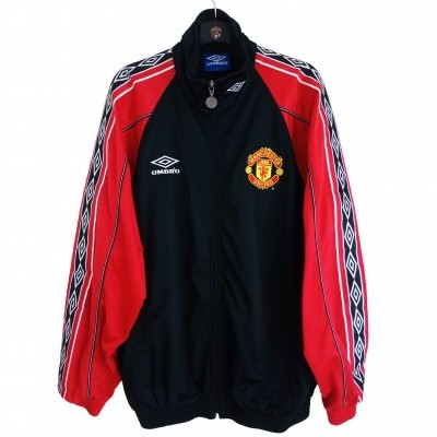 "Manchester United Tracksuit Top Jacket 1998-1999 (L) ""Very Good"""