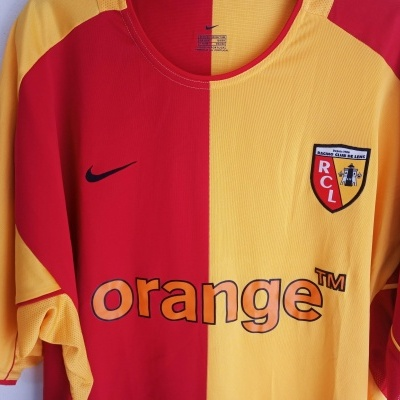 "RC Lens Home Shirt 2003-2004 (XL) ""Perfect"""