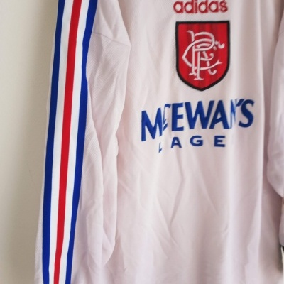 "Glasgow Rangers FC Goalkeeper Shirt 1996-1997 (M) ""Very Good"""