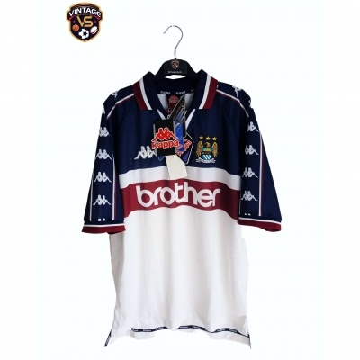 NEW Manchester City Away Shirt 1997-1998 (L)