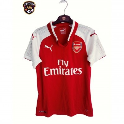 "Arsenal FC Home Shirt 2017-2018 (Womens) ""Very Good"""