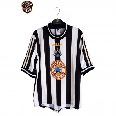 "Newcastle United Home Shirt 1997-1999 (M) ""Good"""