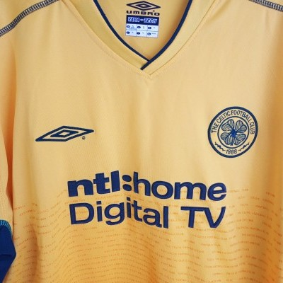 "Celtic Glasgow FC Away Shirt 2002-2003 (XL) ""Very Good"""