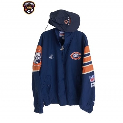 """Chicago Bears NFL Jacket 1990 Years (M) """"Very Good"""""""