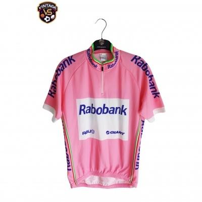 "Team Agu Giant Raboban Cycling Pink Jersey Giro 2009 (S) ""Very Good"""