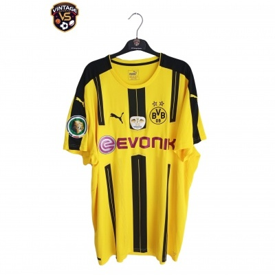 "Borussia Dortmund Final Cup Shirt 2016 #10 Mkhitaryan (3XL) ""Perfect"""