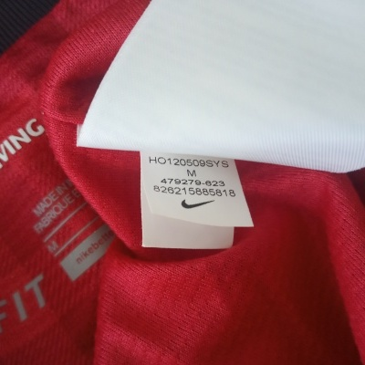 """Manchester United Home Shirt L/S 2012-2013 (M) """"Very Good"""""""