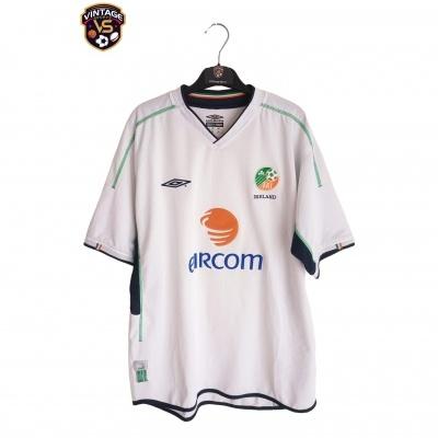 "Republic of Ireland Away Shirt 2002 (XL) ""Very Good"""