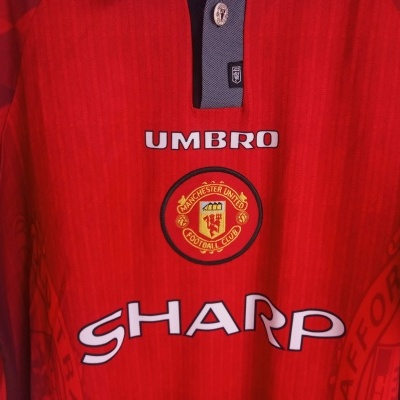 "Manchester United Home Shirt 1996-1998 (XL) ""Very Good"""