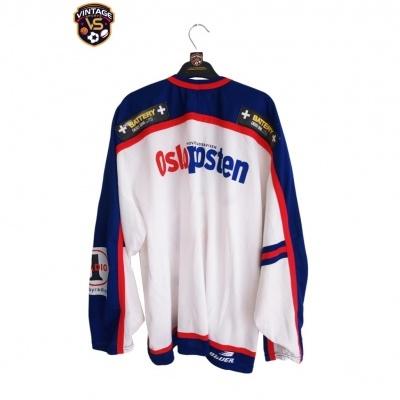 "Valerenga Oslo Ice Hockey Jersey 1990s (XXL) ""Very Good"""
