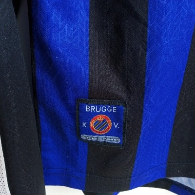 "Club Brugge Home Shirt L/S 1997-1998 (Youths) ""Good"""