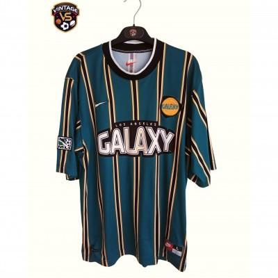 "LA Los Angeles Galaxy MLS Home Shirt 1997-1998 (L) ""Very Good"""