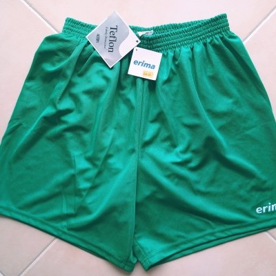 NEW Vintage Shorts Erima 1990's Erima Green (XL)