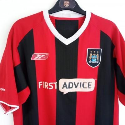 """Manchester City Away Shirt 2003-2004 (M) """"Good"""""""
