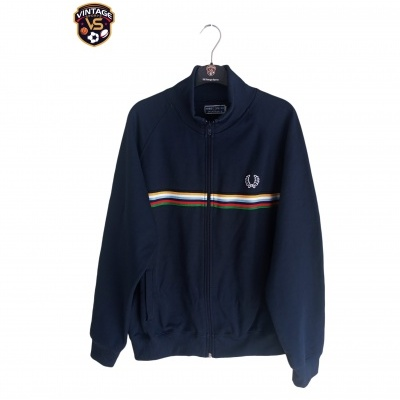 """Fred Perry Track Top Jacket Blue (L) """"Very Good"""""""