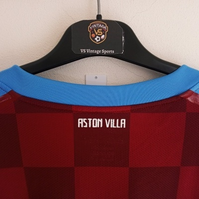 "Aston Villa FC Home Shirt L/S 2011-2012  Player Issue (3XL) ""Perfect"""