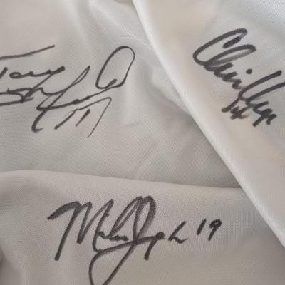 "Signed New York Metrostars Away Issue Shirt 1996 (L) ""Very Good"""
