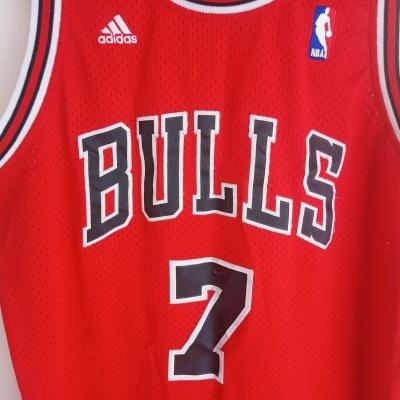 "Chicago Bulls NBA Home Jersey #7 Gordon (M) ""Good"""