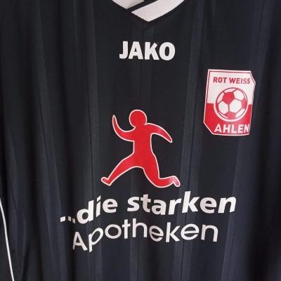 """Matchworn Rot Weiss Ahlen Away Shirt 2013-2014 #5 (L) """"Very Good"""""""
