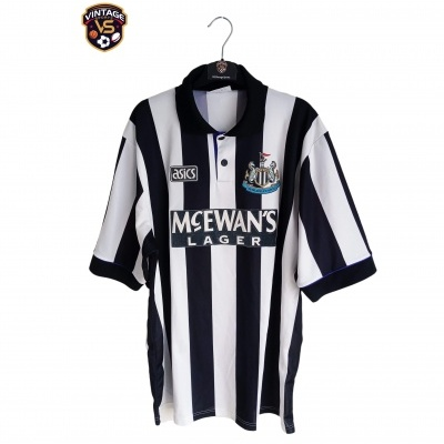 "Newcastle United Home Shirt 1993-1995 (XL) ""Very Good"""