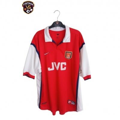 "Arsenal FC Home Shirt 1998-2000 (XXL) ""Good"""