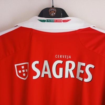 """SL Benfica Home Shirt 2012-2013 (3XL) """"Perfect"""""""