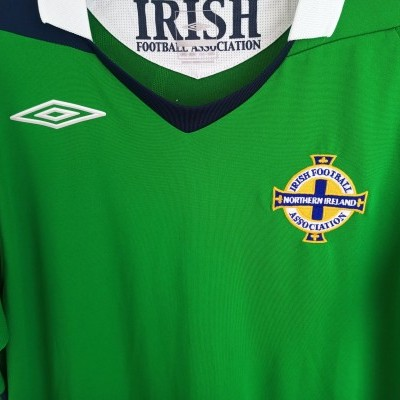 "Northern Ireland Home Shirt 2006-2008 (S) ""Perfect"""