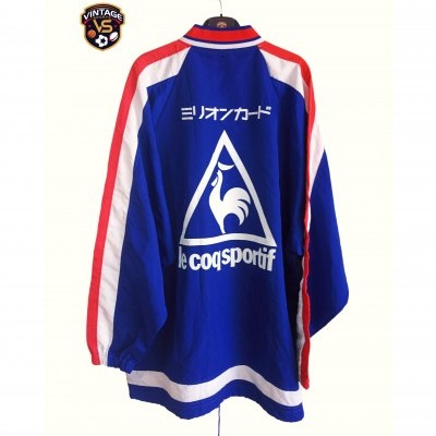 "Nagoya Grampus Eight Windbreaker Top Shirt 1997 ""Very Good"""