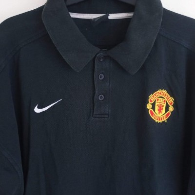 "Manchester United Issue Polo Shirt 2002 (L) ""Good"""