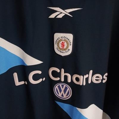 """Crewe Alexandra FC Away Shirt 1999-2000 (L) """"Good"""""""