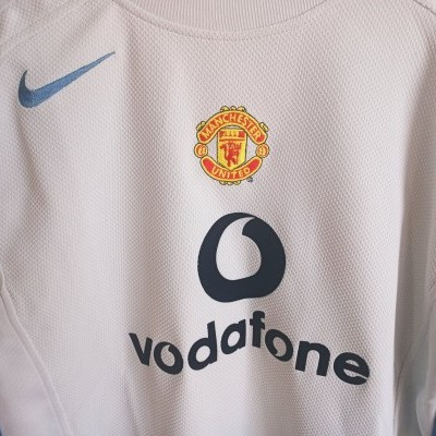 NEW Manchester United Goalkeeper Shirt 2004-2005 (L Youths)