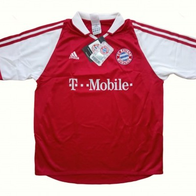 NEW Bayern Munich Home Shirt 2003-2004 (M Youths)