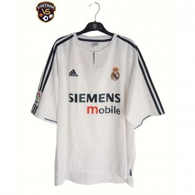 "Real Madrid Home Shirt 2003-2004 (XL) ""Very Good"""