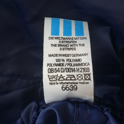 "Vintage Shorts Adidas 1990s Blue (M) ""Very Good"""