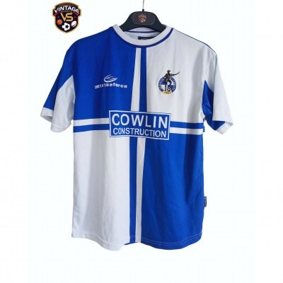 "Bristol Rovers FC Home Shirt 2001-2003 (LB) ""Good Condition"""