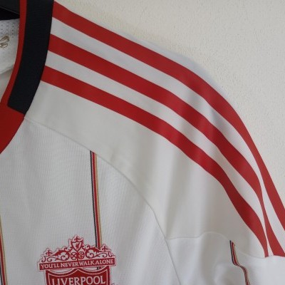 """Liverpool FC Away Shirt Player Issue 2010-2011 (M) """"Perfect"""""""