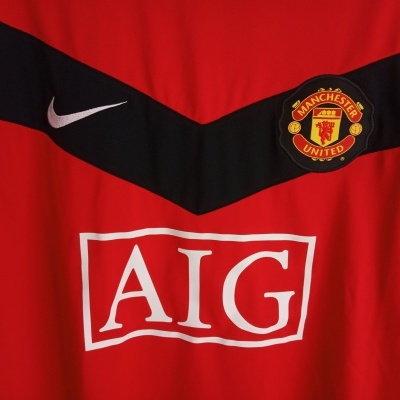 NEW Manchester United Home Shirt 2009-2010 (L)