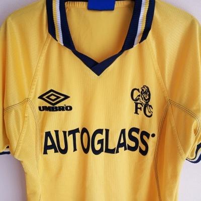 "Chelsea FC Third Shirt 1998-2000 (Youths) ""Average"""