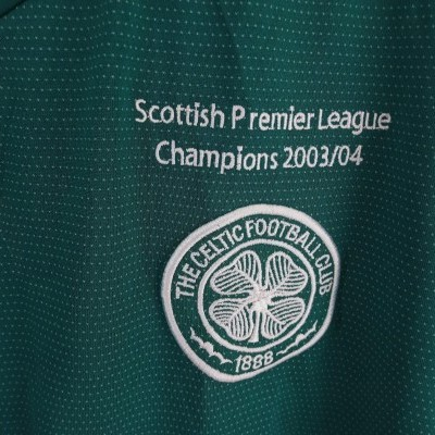 "Celtic Glasgow FC Away Shirt 2004-2005 Champions (XL) ""Good"""