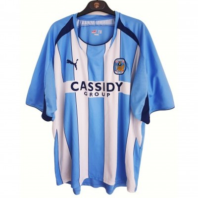 """Coventry City FC 125 Years Home Shirt 2008-2009 (XXL) """"Good"""""""